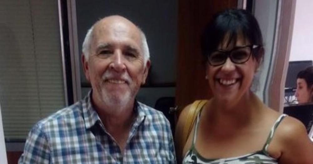 Eduardo Santín y Vanesa Cirulli.